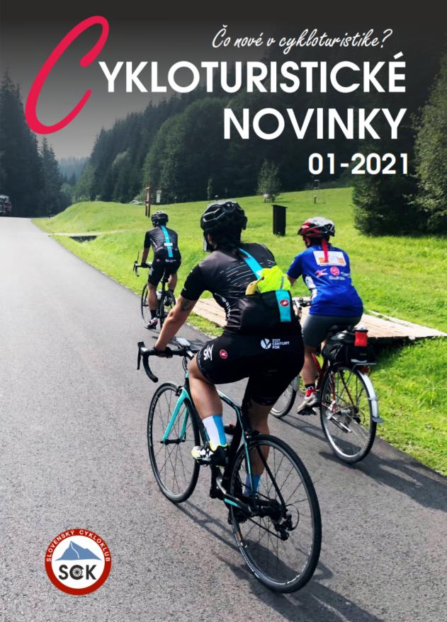 Cykloturistické novinky 2021